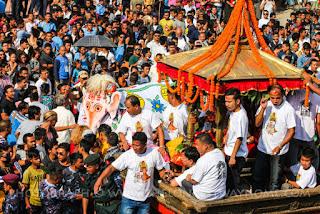 Indra Jatra festivals in Nepal