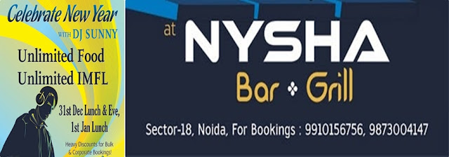 Dinner and Live Music at Nysha Grill and Bar, Sector 18, Noida