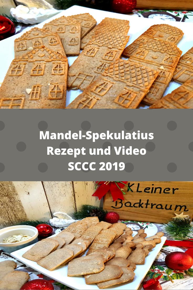 Mandel-Spekulatius - Rezept von Kleiner Backtraum | SCCC 2019: Türchen Nr. 4 | Gewinnspiel