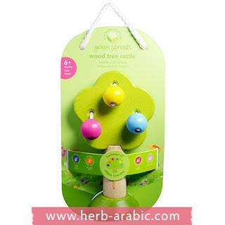 لعبة شجرة طبيعية للاطفال والمواليد ايبلاي