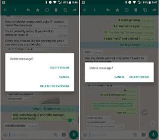 Update Fitur Delete For Everyone di WhatsApp Akhirnya Dirilis