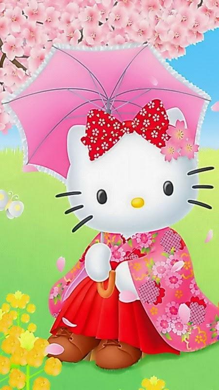 Gratis download wallpaper cantik hello kitty untuk Hp android