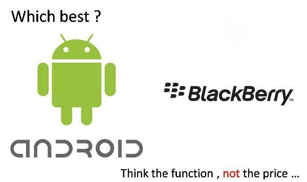Android vs Blackberry : Pilih Mana?
