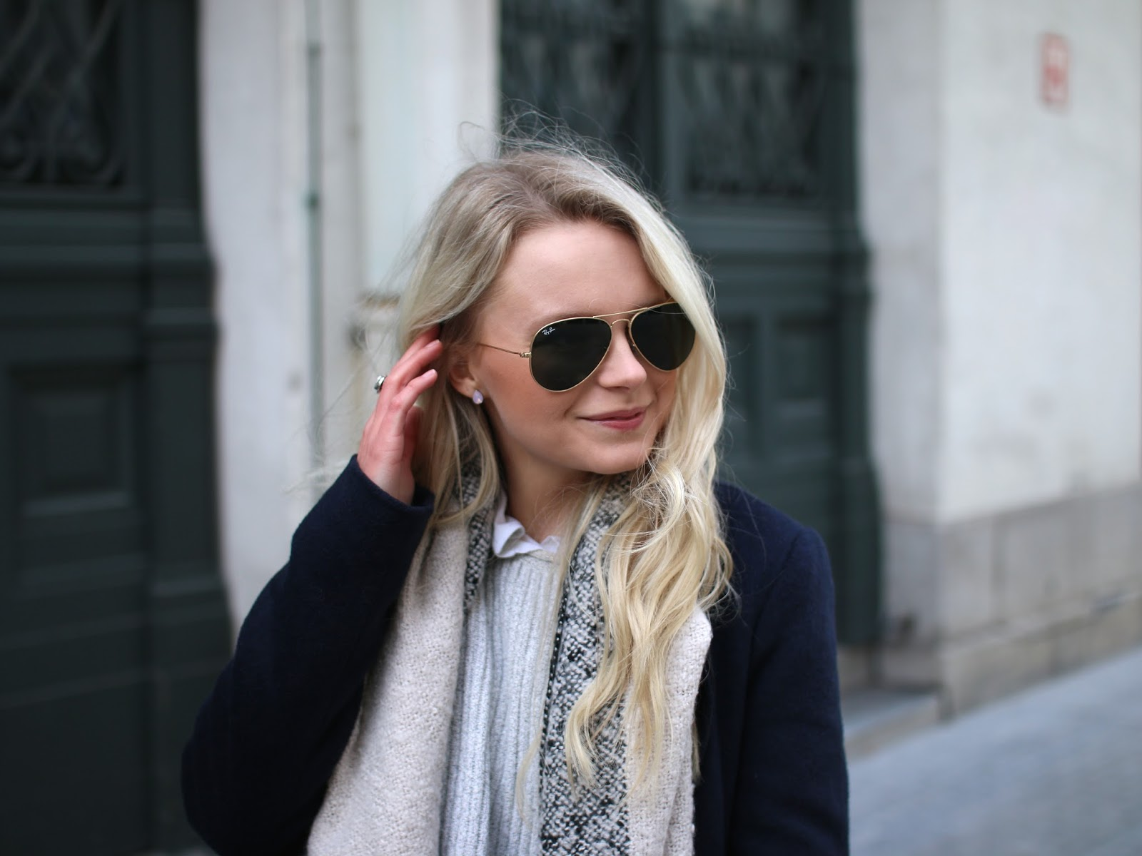 how to style rayban aviators
