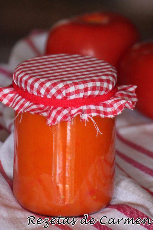 Salsa de tomate (en thermomix)