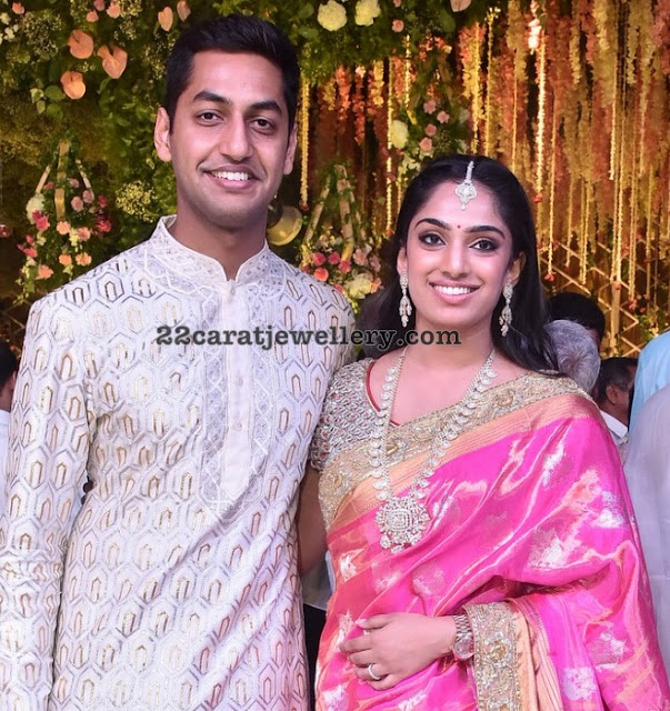 Keshav Reddy and Veena Reddy at Anirudh Reddy Wedding