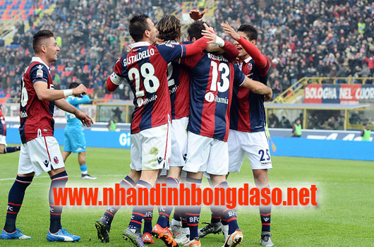 AS Roma vs Bologna www.nhandinhbongdaso.net