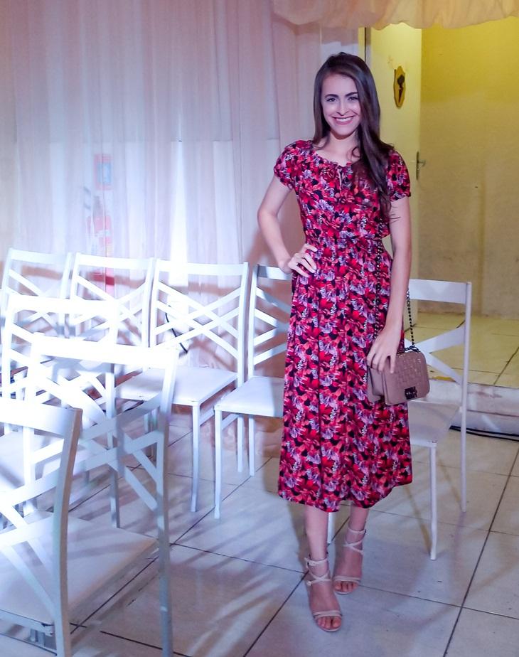 0e20ab59a E hoje vim mostrar para vocês um vestido lindo que recebi da loja que estou  completamente apaixonada!!! Fui com ele para o evento de uma loja da cidade  e ...