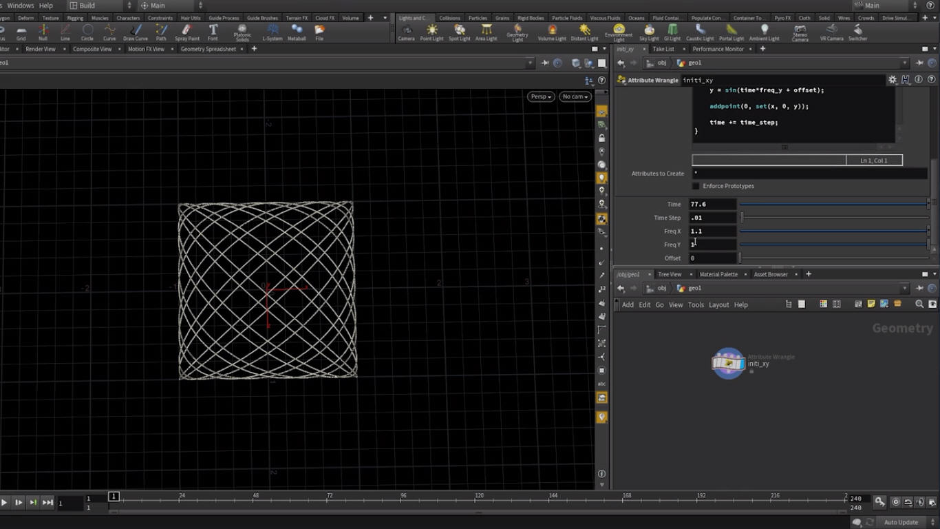 Mathematical Drawings with VEX In Houdini   CG TUTORIAL