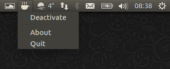 Caffeine Indicator Ubuntu