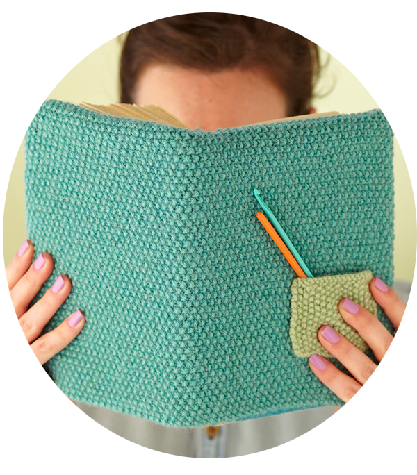 Knitted Book Cover Pattern Free ~ Proyectos para tejer en marzo gallimelmas e imaginancias