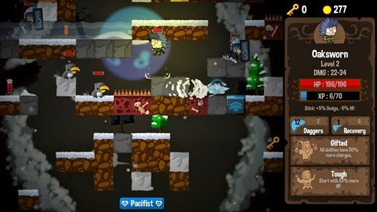 Vertical Drop Heroes PC Gameplay