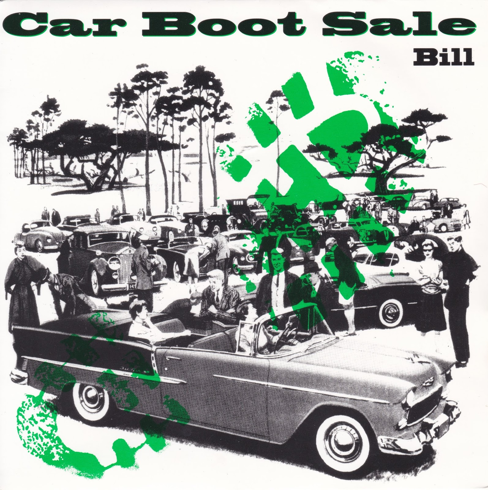 left and to the back bill car boot sale john parr