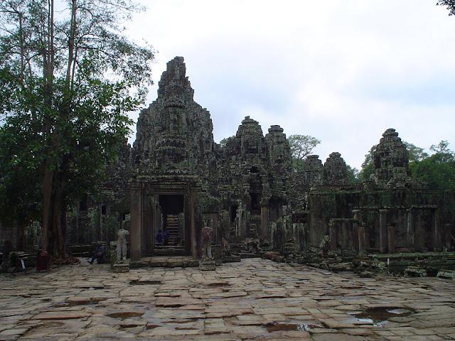 Ruines d'Angkor Vat - Cambodge