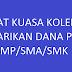 Surat Kuasa Penarikan Dana PIP Kolektif SD/SMP/SMA/SMK