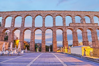 2. Aqueduct of Segovia