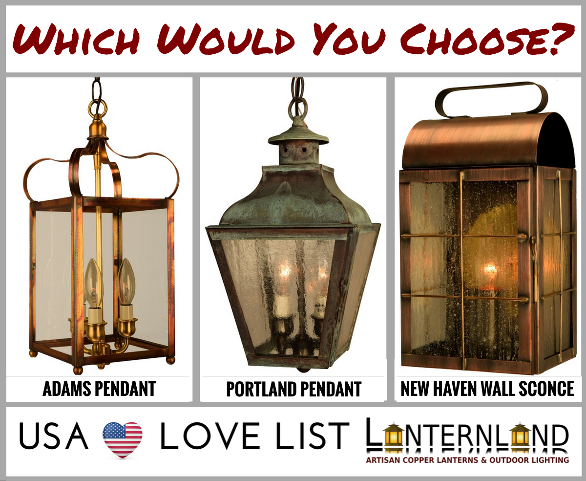 Lanternland Creates High Quality Handmade Copper Lanterns And Outdoor Lighting From Solid Br Every Fixture Is Made To