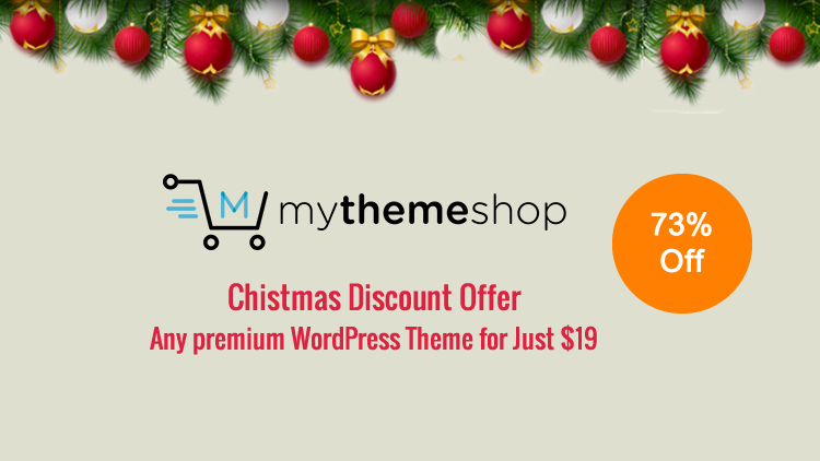 MyThemeShop - Chirstmas Discount Offer