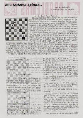 Revista Ajedrez Español nº 33/34, mayo-junio 1958, pág. 229
