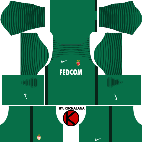 4ce205e89d9 AS Monaco FC Nike Kits 2017 - Dream League Soccer 2017 - Kuchalana