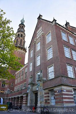 萊登, Leiden, 荷蘭, holland, netherlands, 市政廳Staduhis