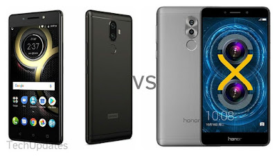 Lenovo K8 Note vs Honor 6X