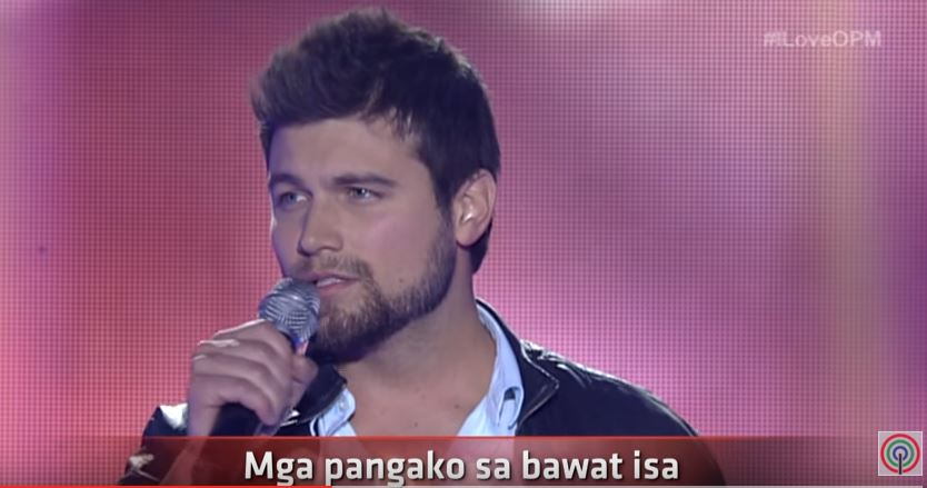 """Ryan Gallagher sings """"Kahit Isang Saglit"""" on I Love OPM"""