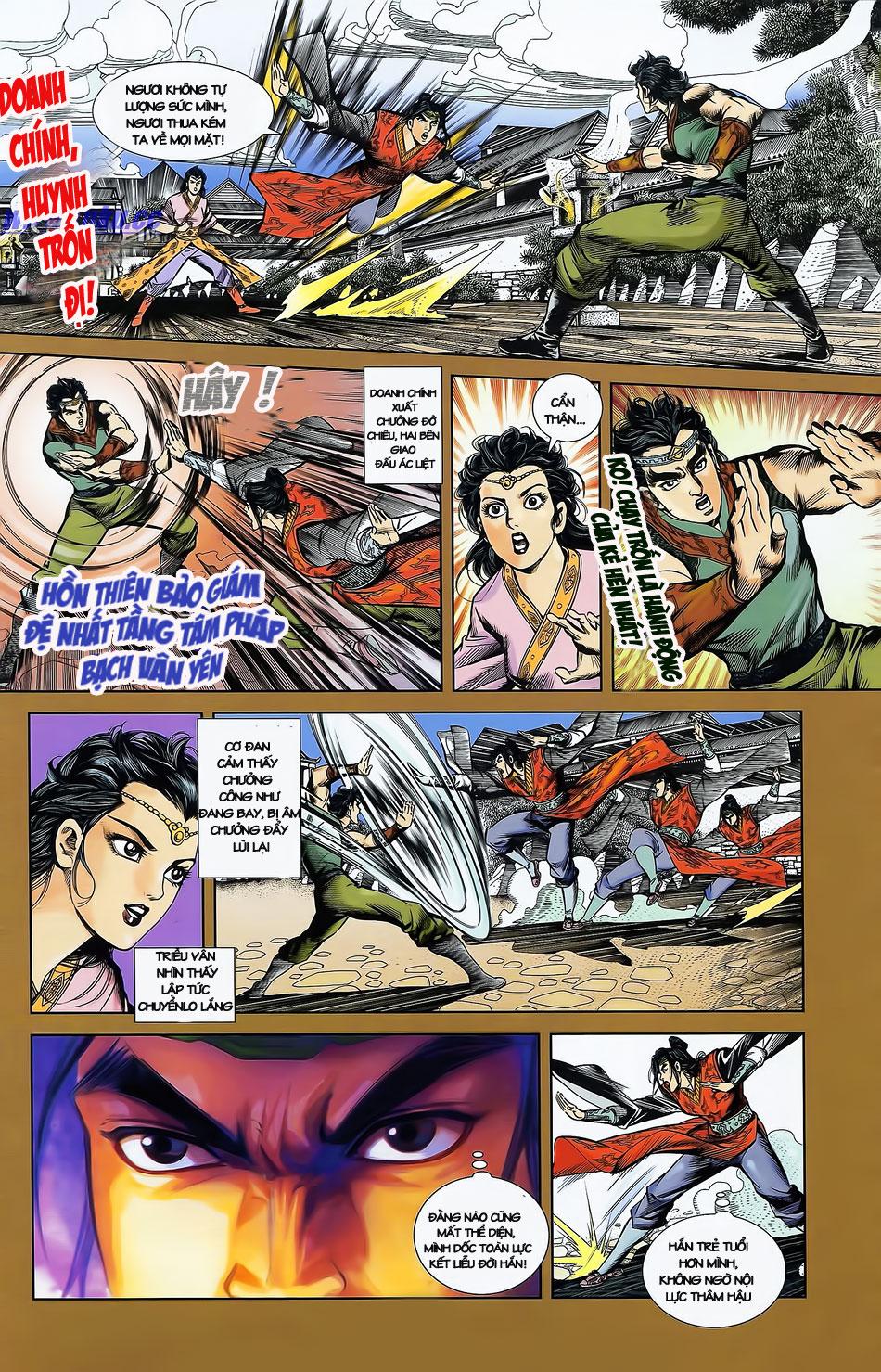 Tần Vương Doanh Chính chapter 2 trang 12