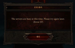 Error 37 from Diablo 3