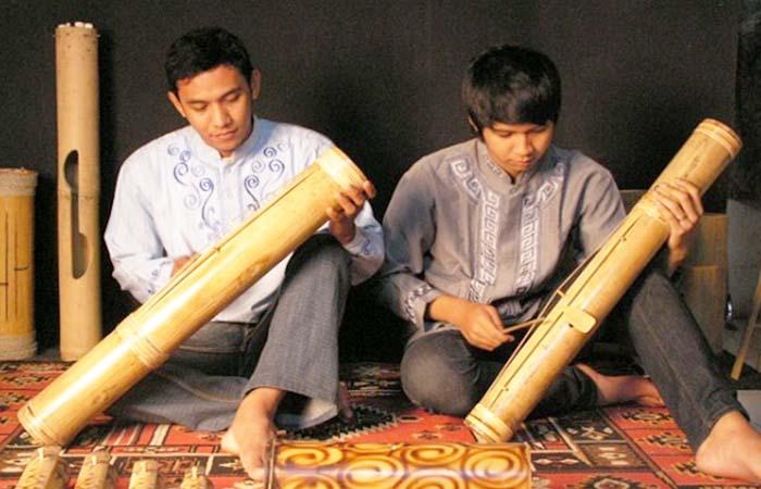 Pantun Bambu, Alat Musik Tradisional Dari Banten