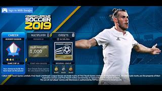 Dream League Soccer DLS 2019 Mod Apk Unlimited Coins +  All Players Unlocked