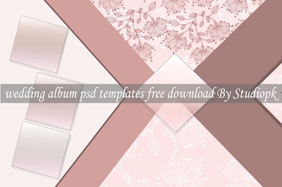 Wedding Album Psd Templates 12x18