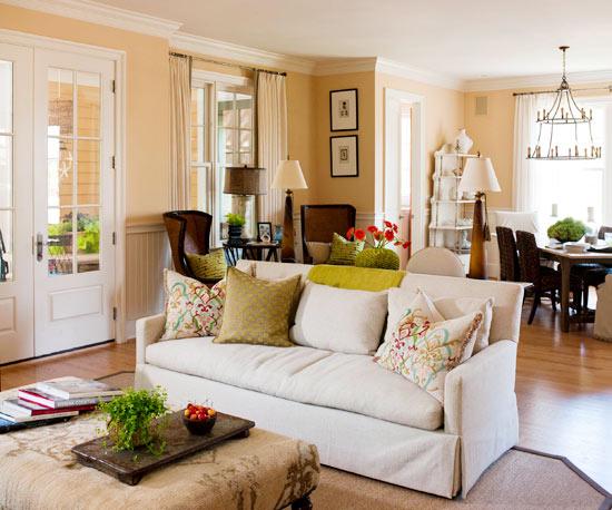 Celebrity Homes Interior: Living Room Furniture ...