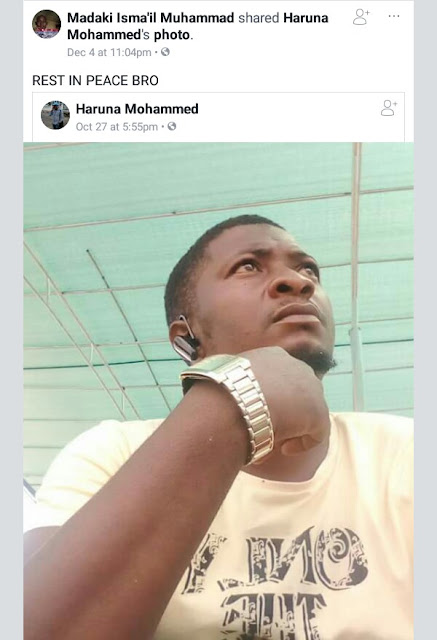 Photos: Corps member dies in Lagos