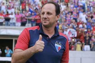 Rogério Ceni, atualmente no Fortaleza