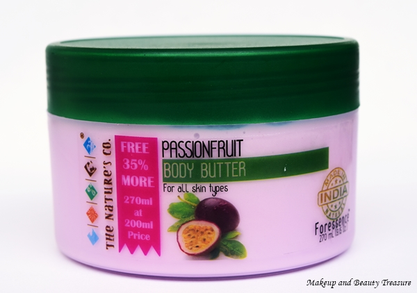 The Nature's Co Passionfruit Body Butter buy online