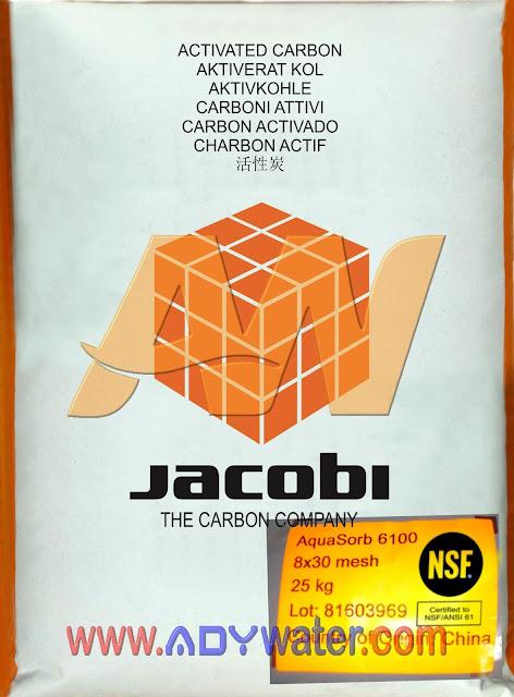 JUAL KARBON AKTIF JACOBI AQUASORB 1000, 2000, 5000, 6100