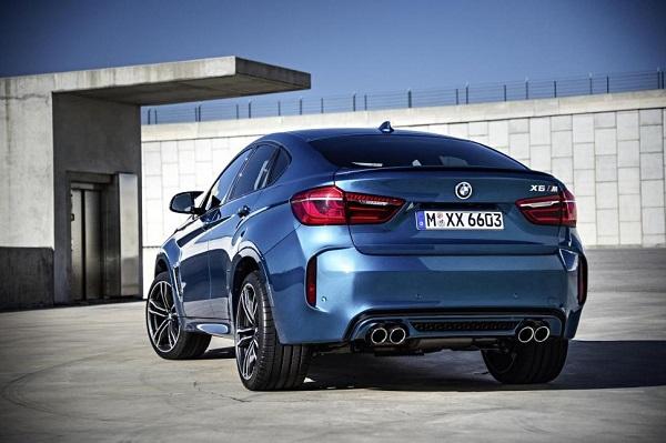 2016 BMW X6 rear