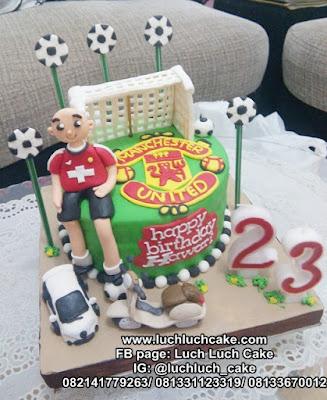Kue Tart Tema Bola Manchester United