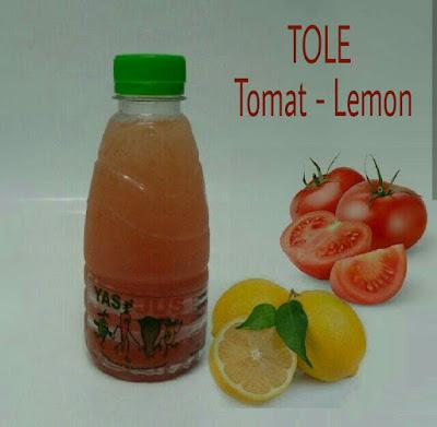 Jus Tomat lemon