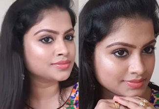 BROWN EYELINER MAKEUP LOOK | INDIAN MAKEUP LOOK