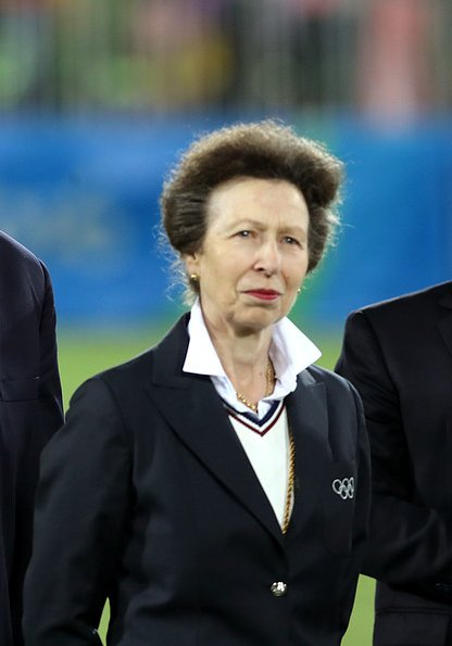Princess Anne attended the medal ceremony for the Men's Rugby Sevens