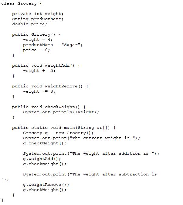 NIIT Lab: Java Lab2