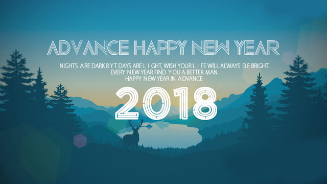 Happy New Year Images in Advance 2018
