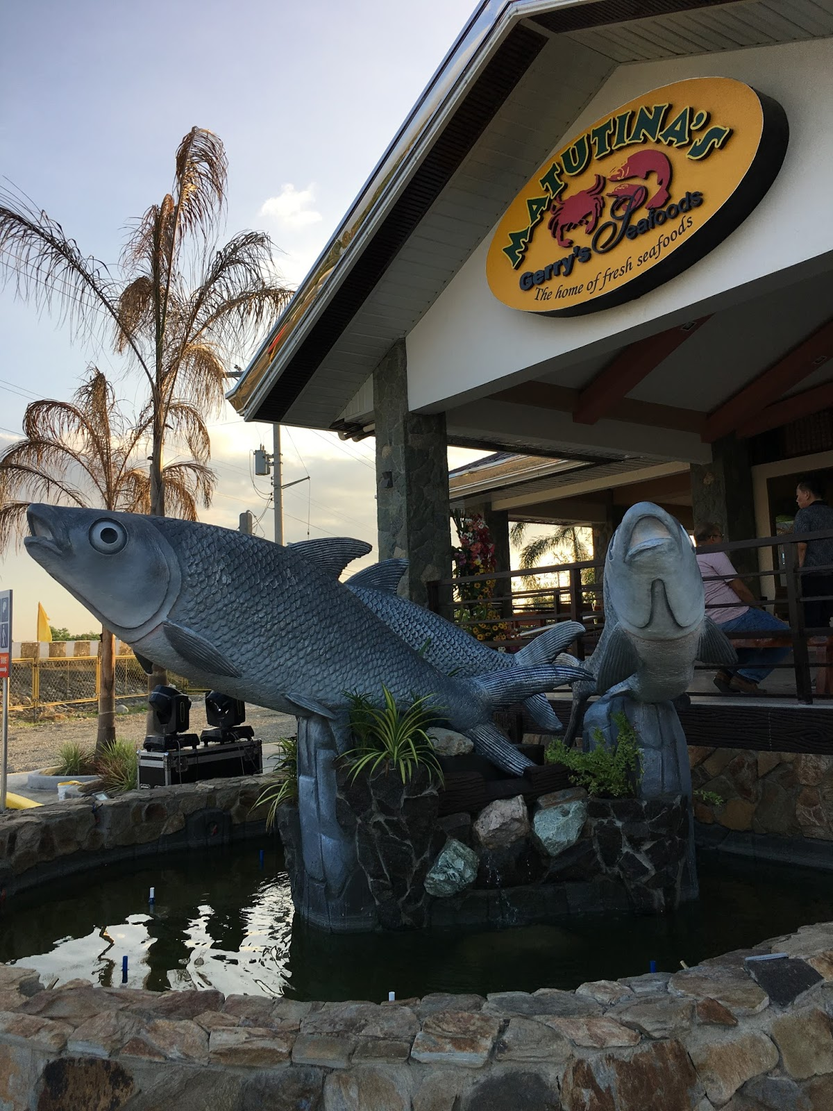 matutina's and gerry's seafoods' newly-opened branch in dagupan city