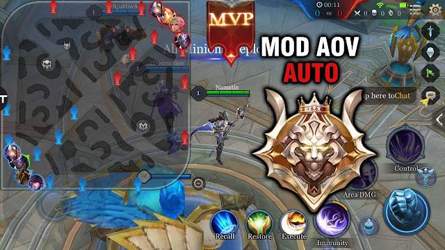 Cheat Mod Aov Semua Musuh Terlihat Di Map - Auto Legendary + Mvp!! 1