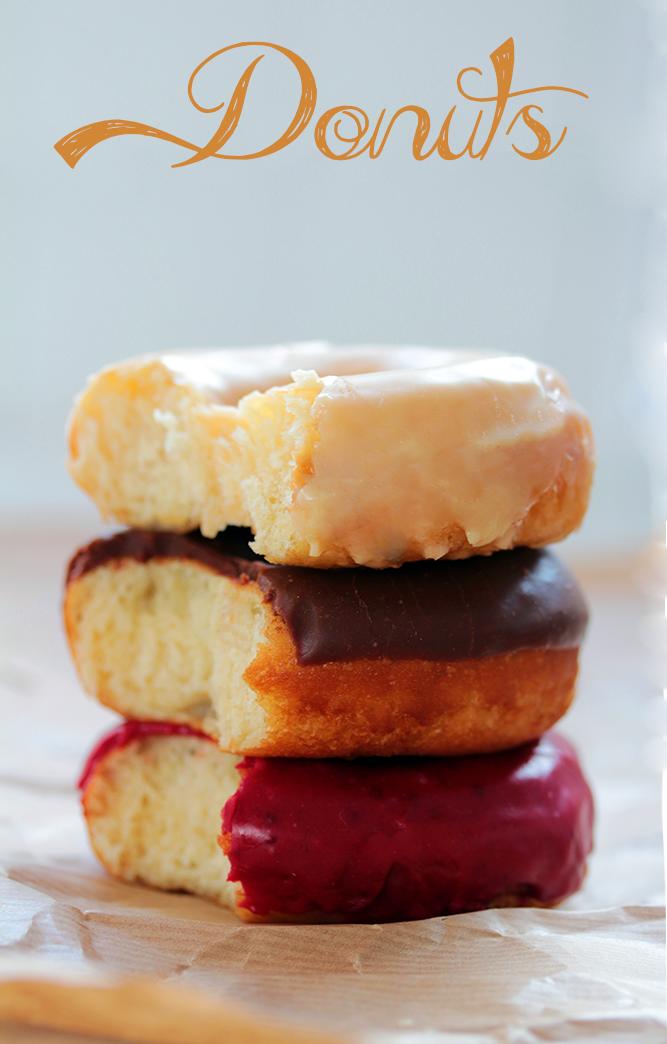 Receta de donuts auténticos