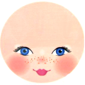 It is an image of Shocking Free Printable Doll Faces