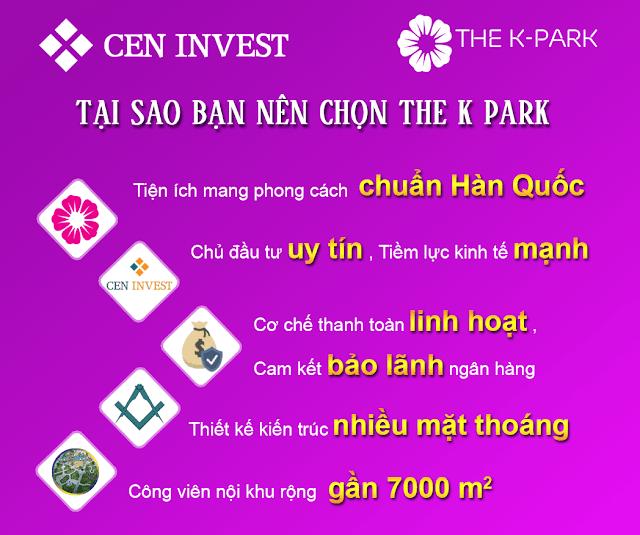Bạn nên mua chung cư The K Park