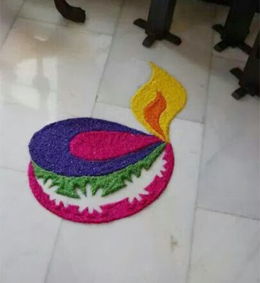 Free Download Happy New Year 2020 Rangoli Designs Images